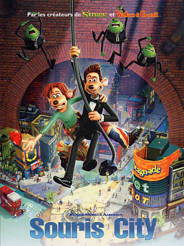 "poster for ""Flushed Away&quot"
