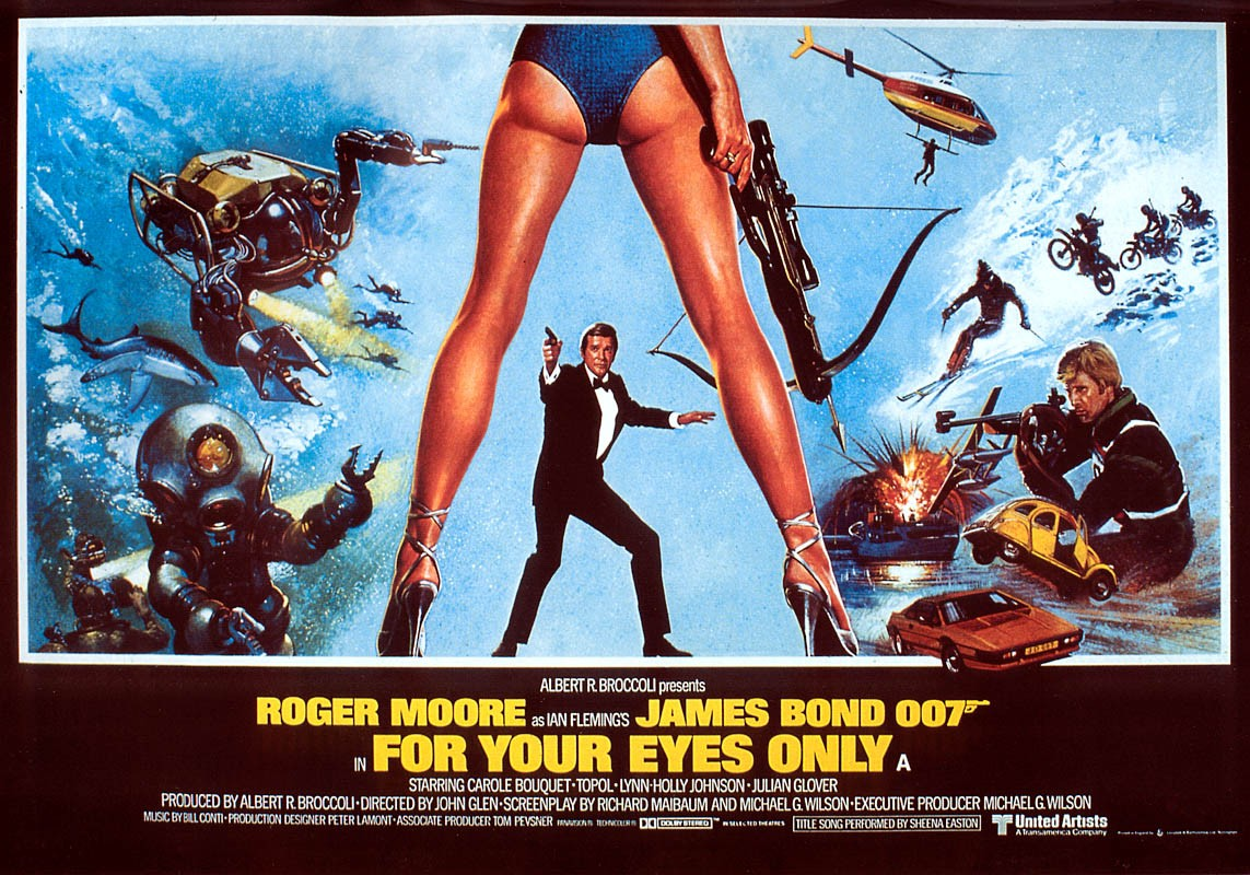 "poster for ""For Your Eyes Only&quot"