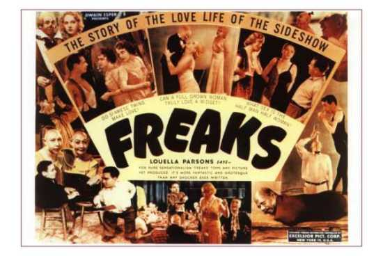 "poster for ""Freaks&quot"