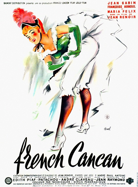 "poster for ""French Cancan&quot"