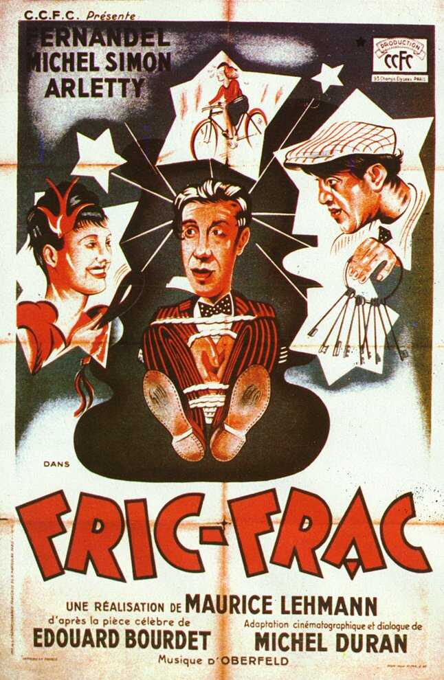 "poster for ""Fric-Frac"" by Maurice Lehman 