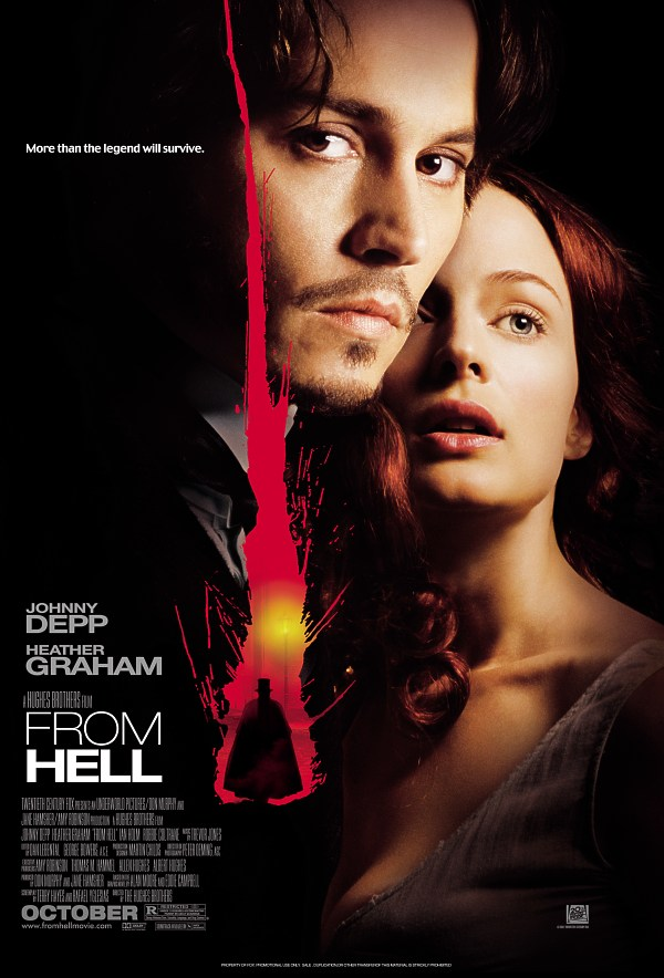 "poster for ""From Hell"" by Albert Hughes 