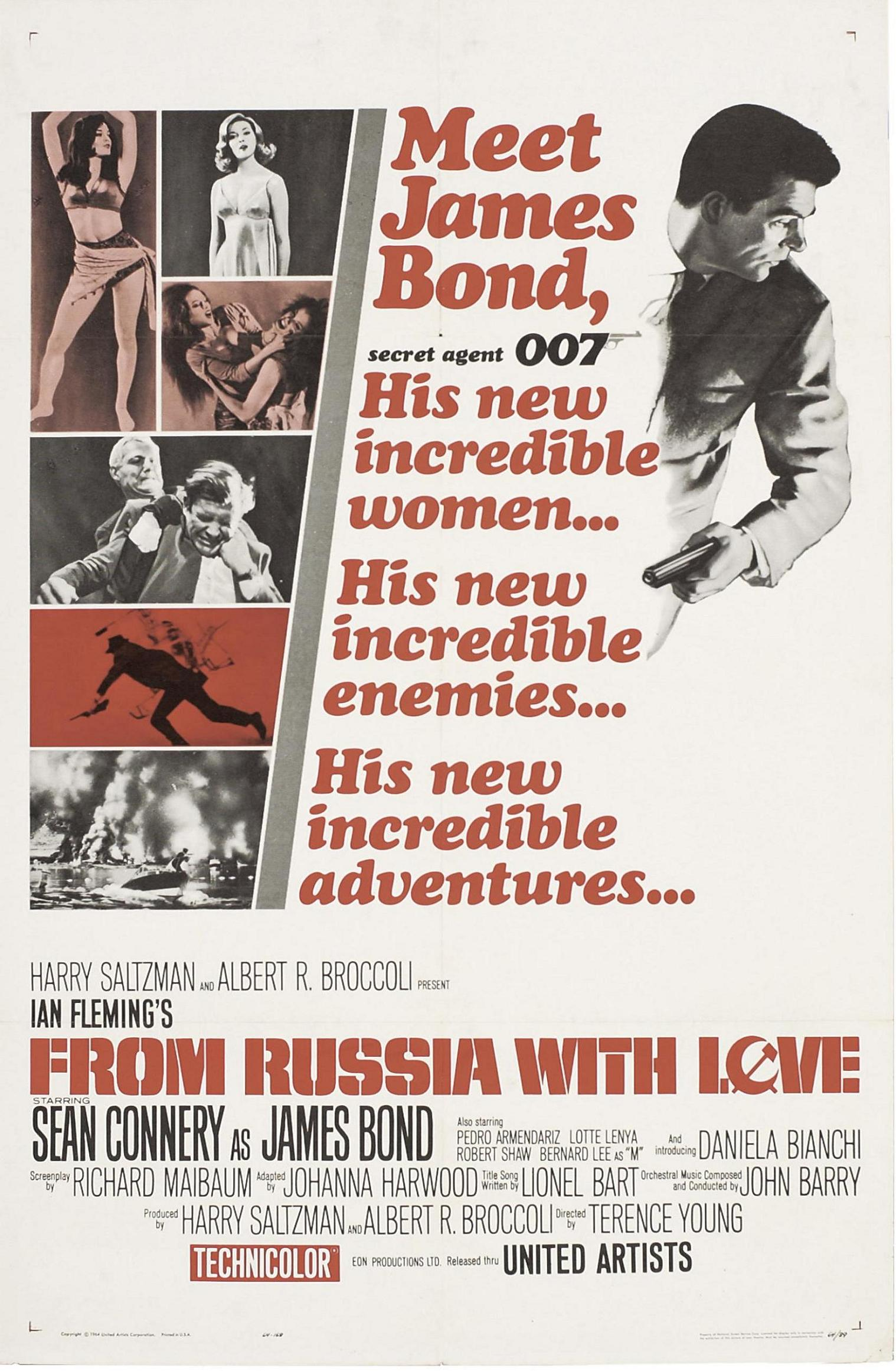for movieid 1420: From Russia With Love (1963) by Terence Young