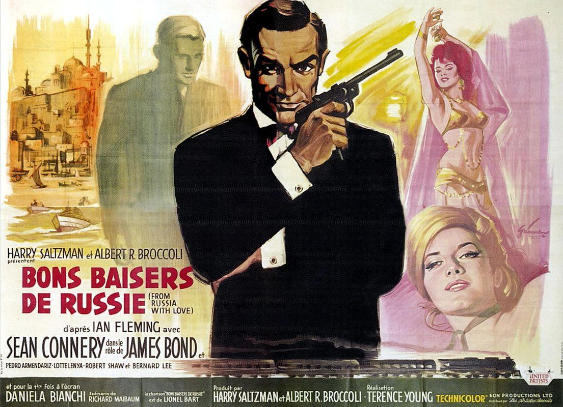 "poster for ""From Russia With Love&quot"