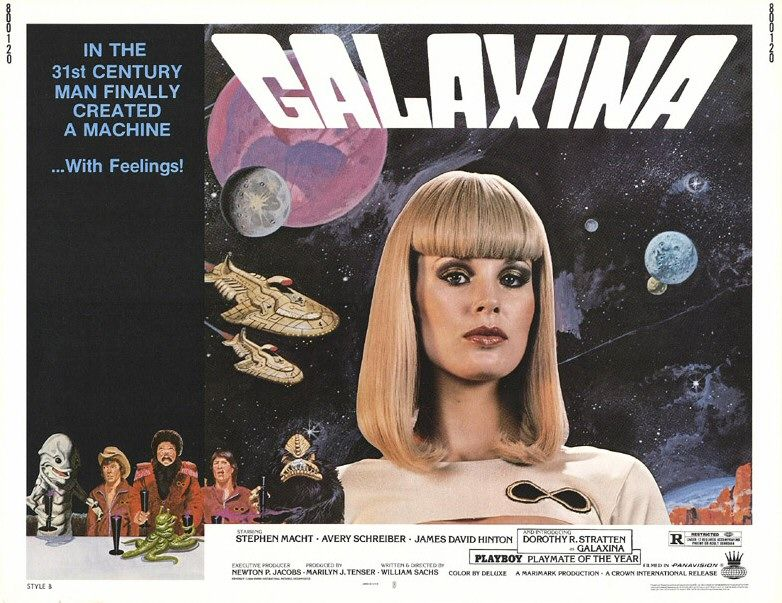 "poster for ""Galaxina"" by William Sachs(1980)"