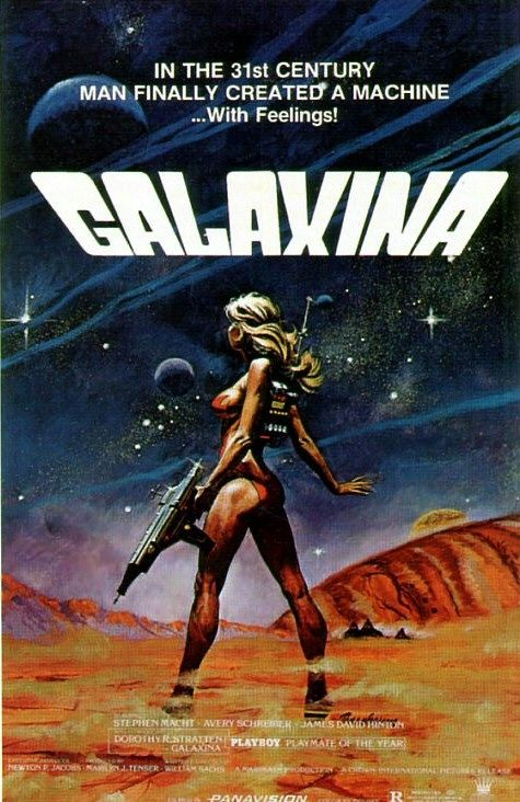 "poster for ""Galaxina&quot"
