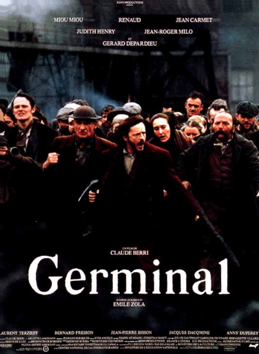 "poster for ""Germinal"" by Claude Berri(1993)"