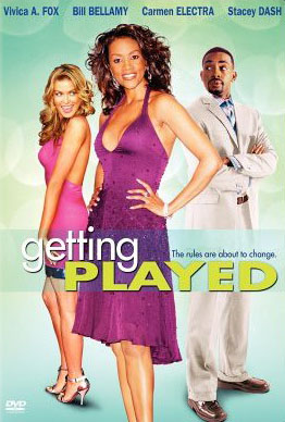 "poster for ""Getting Played"" by David Silberg (2005)"