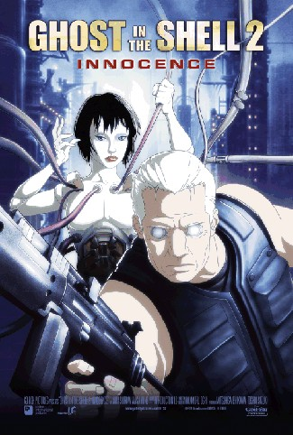 "poster for ""Kokaku kidotai 2, Inosensu (Ghost In The Shell 2 - Innocence)"""