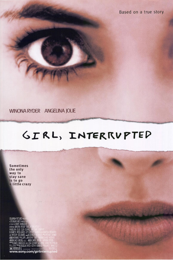 "poster for ""Girl Interrupted"" by James Mangold(1999)"