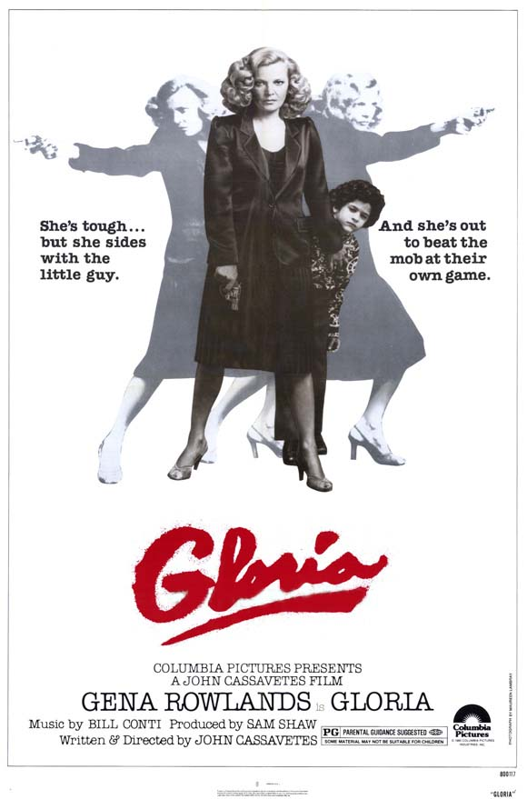 "poster for ""Gloria"" by John Cassavetes(1980)"