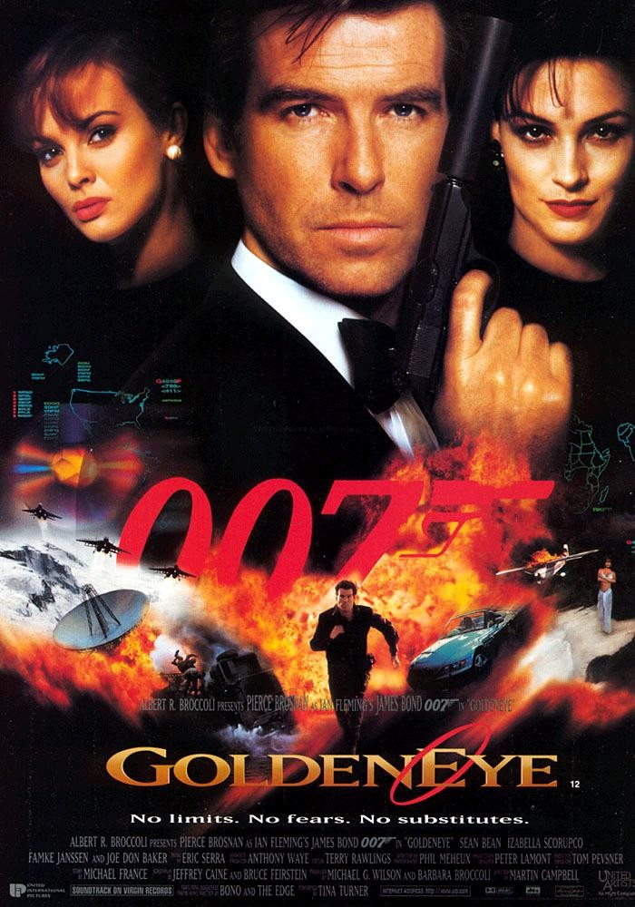 "poster for ""GoldenEye&quot"