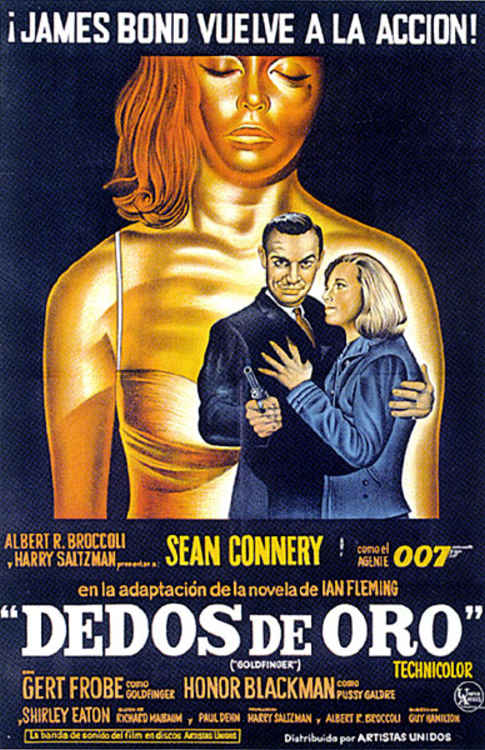 "poster for ""Goldfinger&quot"
