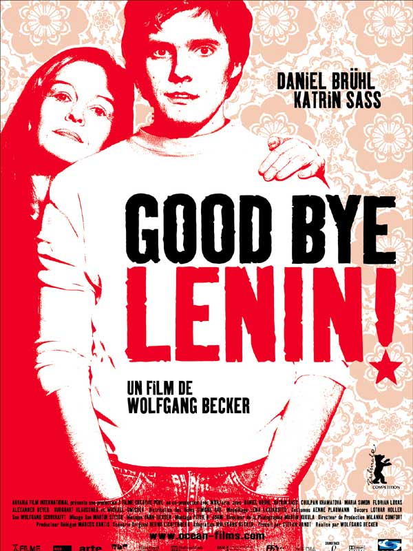 "poster for ""Good Bye Lenin"" by Wolfgang Becker (2003)"