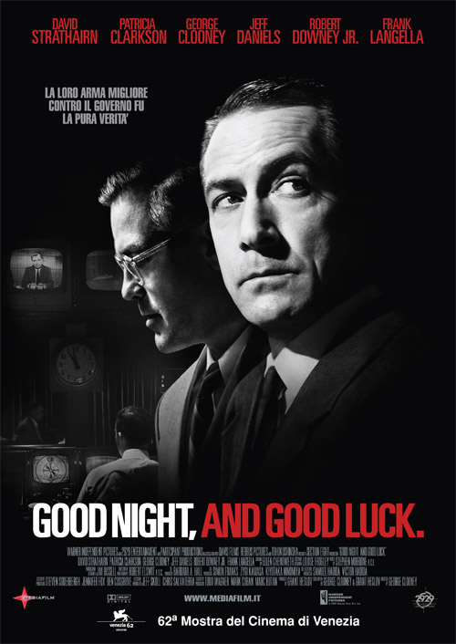 "poster for ""Good Night, and Good Luck"""