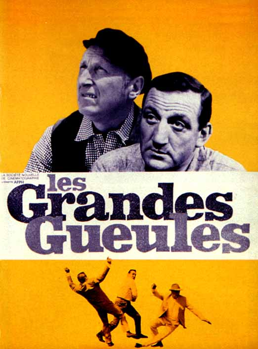 "poster for ""Grandes gueules, Les&quot"