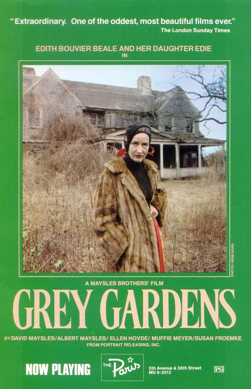 "poster for ""Grey Gardens"" by Ellen Hovde 