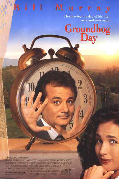 "poster for ""Groundhog Day"" by Harold Ramis(1993)"