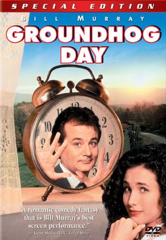 "poster for ""Groundhog Day&quot"