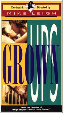 "poster for ""Grown Ups"" by Mike Leigh(1980)"