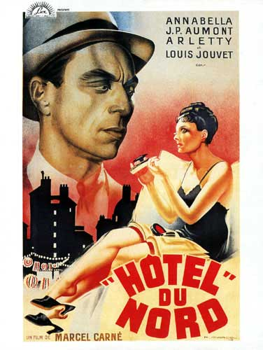 "poster for ""H�tel du Nord&quot"