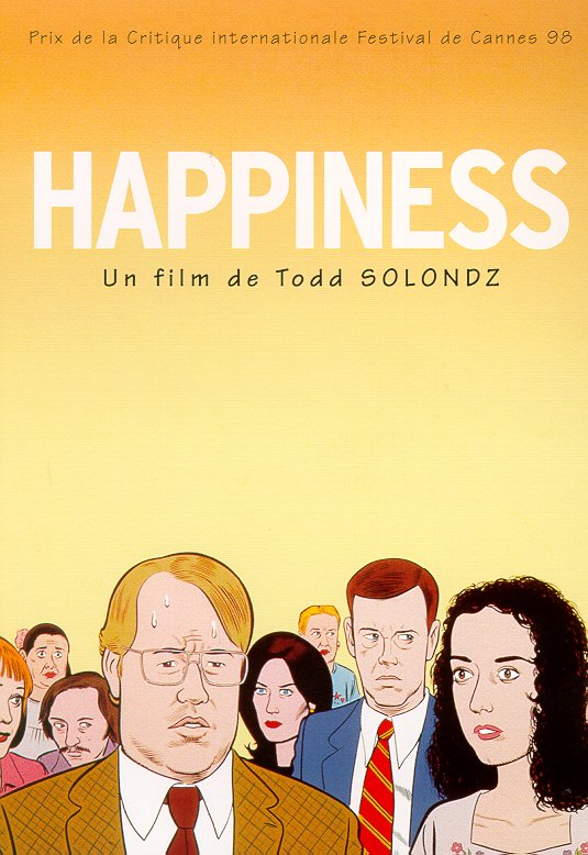 "poster for ""Happiness"" by Todd Solondz(1998)"