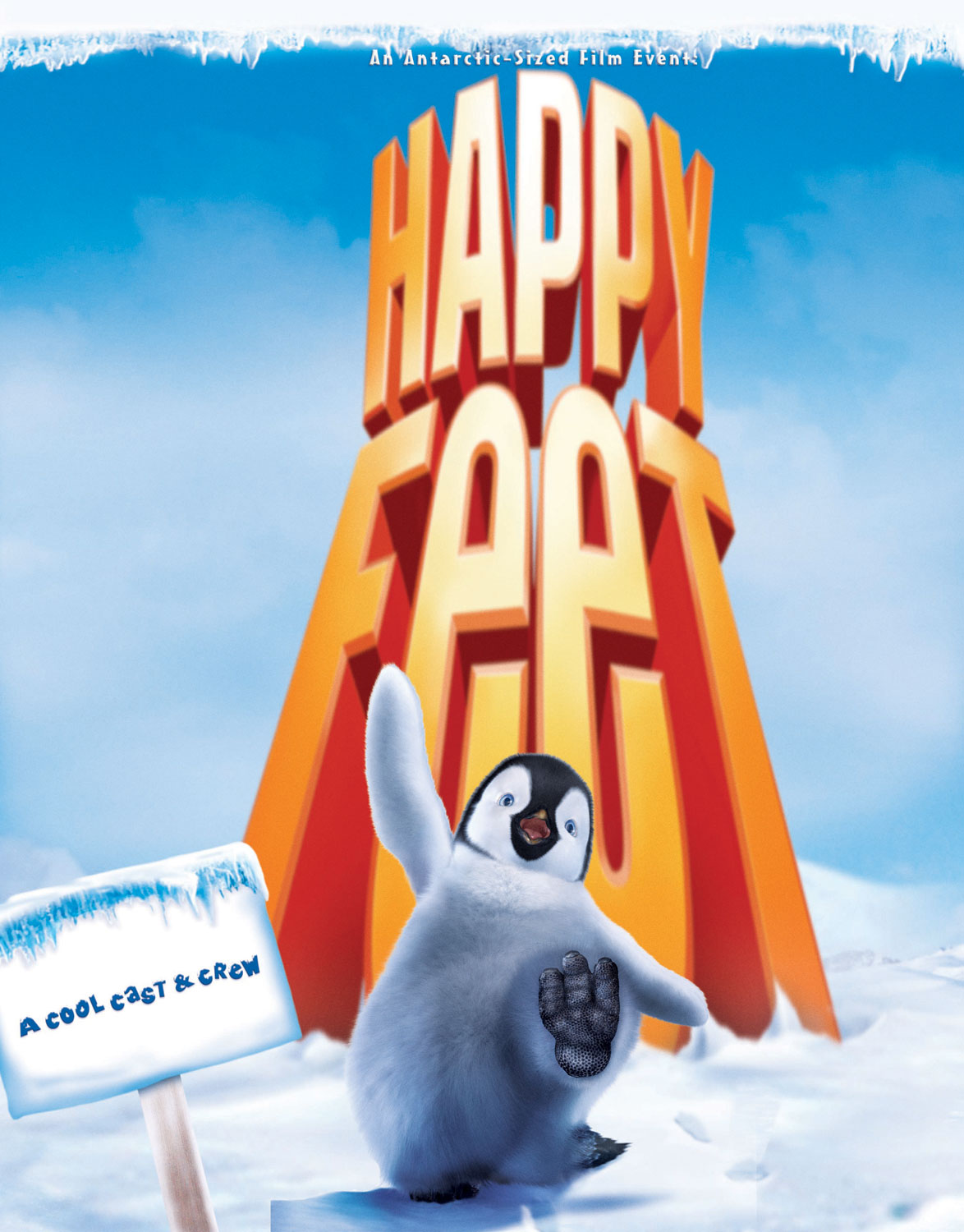 "poster for ""Happy Feet"" by George Miller(2006)"