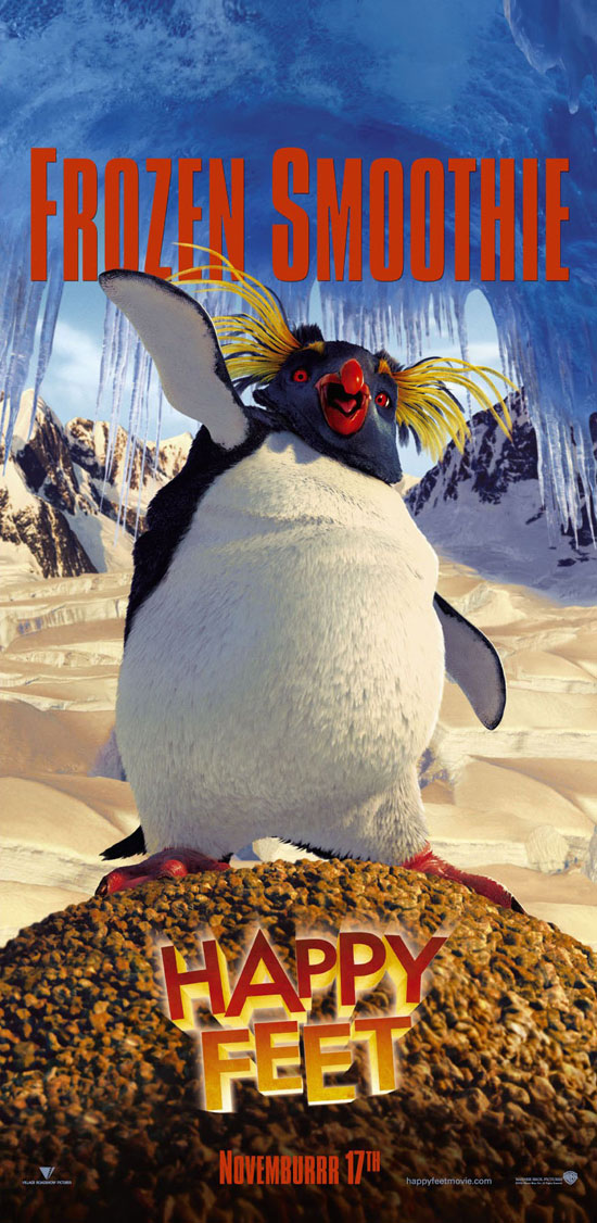 "poster for ""Happy Feet&quot"