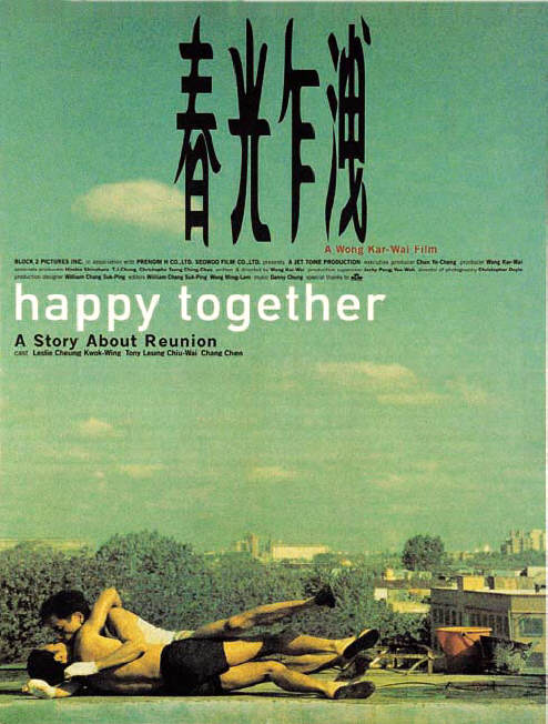 "poster for ""Cheun gwong tsa sit (Happy Together)"" by Kar-wai Wong (1997)"
