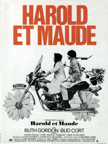 "poster for ""Harold and Maude&quot"