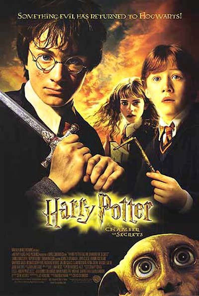 "poster for ""Harry Potter & The Chamber of Secrets&quot"