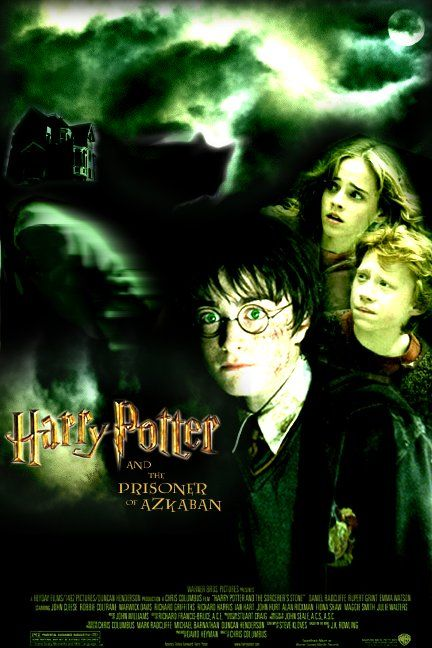 "poster for ""Harry Potter And The Prisoner Of Azkaban&quot"