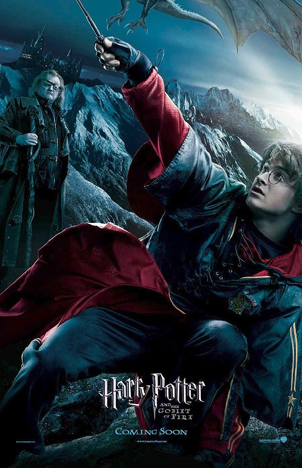 "poster for ""Harry Potter and The Goblet of Fire&quot"
