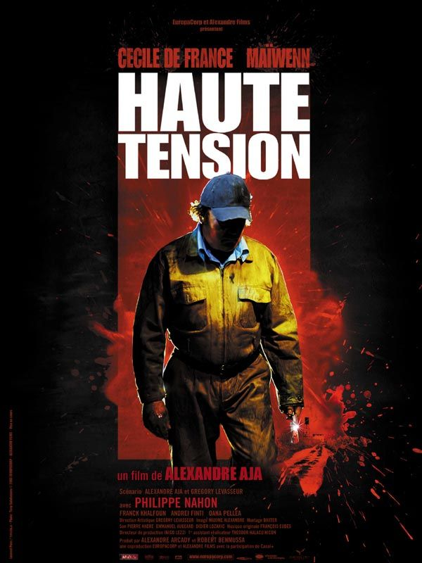 "poster for ""Haute Tension"""