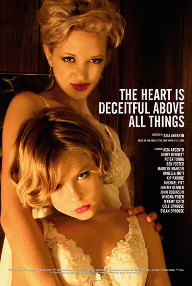 "poster for ""Heart Is Deceitful Above All Things, The"" by Asia Argento(2004)"