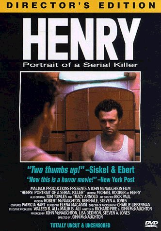 "poster for ""Henry, Portrait of a Serial Killer&quot"