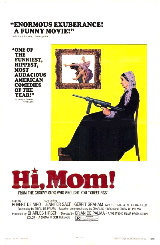 "poster for ""Hi Mom!"" by Brian De Palma(1970)"