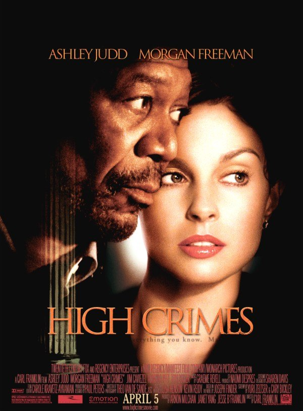 "poster for ""High Crimes"" by Carl Franklin(2002)"