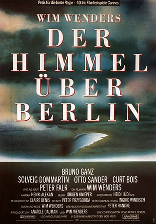 "poster for ""Himmel �ber Berlin, Der"" by Wim Wenders(1987)"
