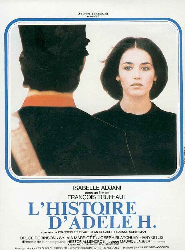 "poster for ""Histoire d'Ad�le H., L'"" by Fran�ois Truffaut(1975)"