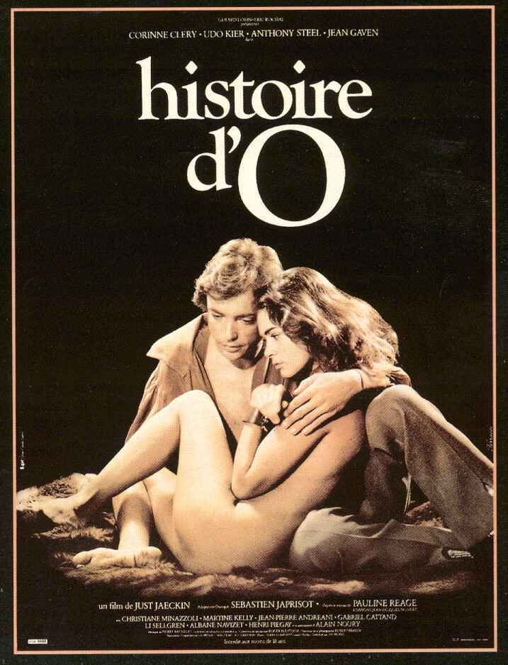"poster for ""Histoire d'O"" by Just Jaeckin(1975)"