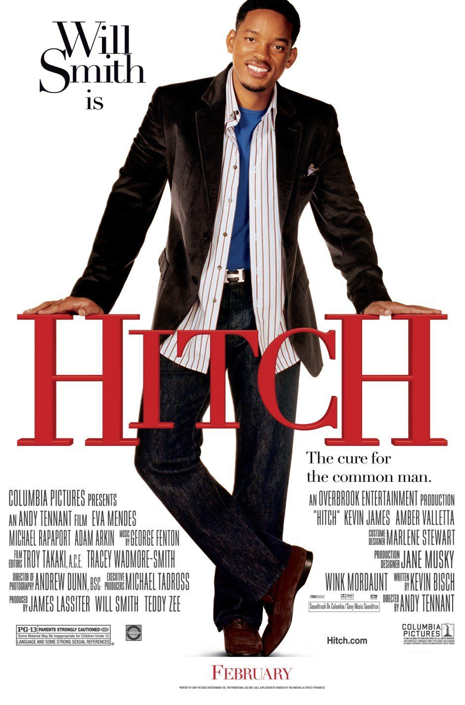 "poster for ""Hitch"" by Andy Tennant(2005)"