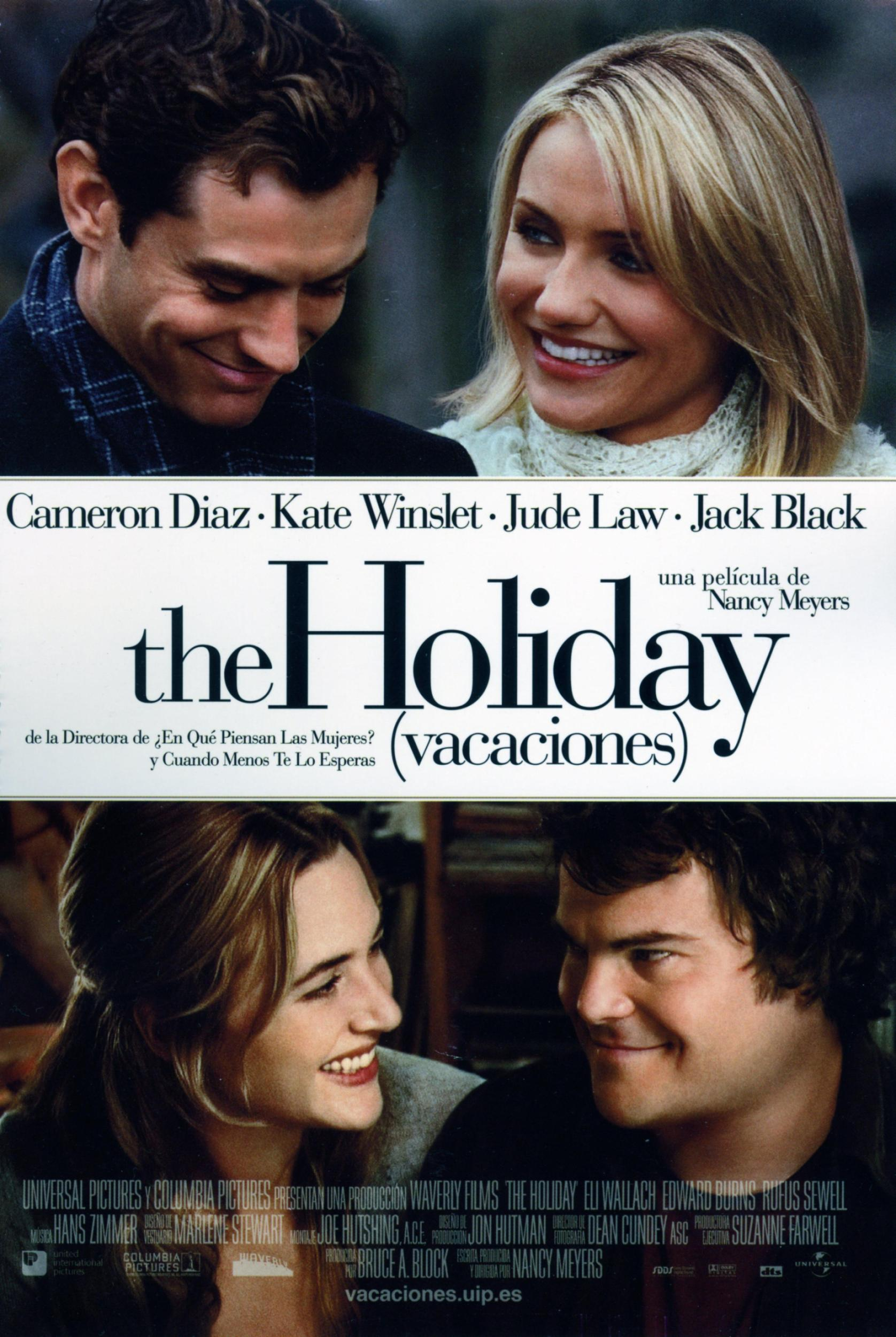 "poster for ""Holiday, The&quot"