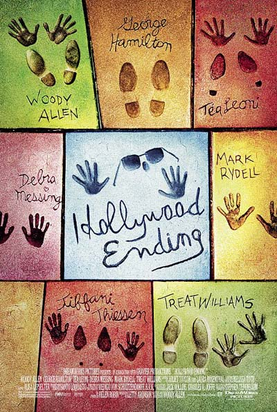 "poster for ""Hollywood Ending"" by Woody Allen(2002)"