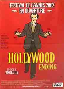"poster for ""Hollywood Ending&quot"