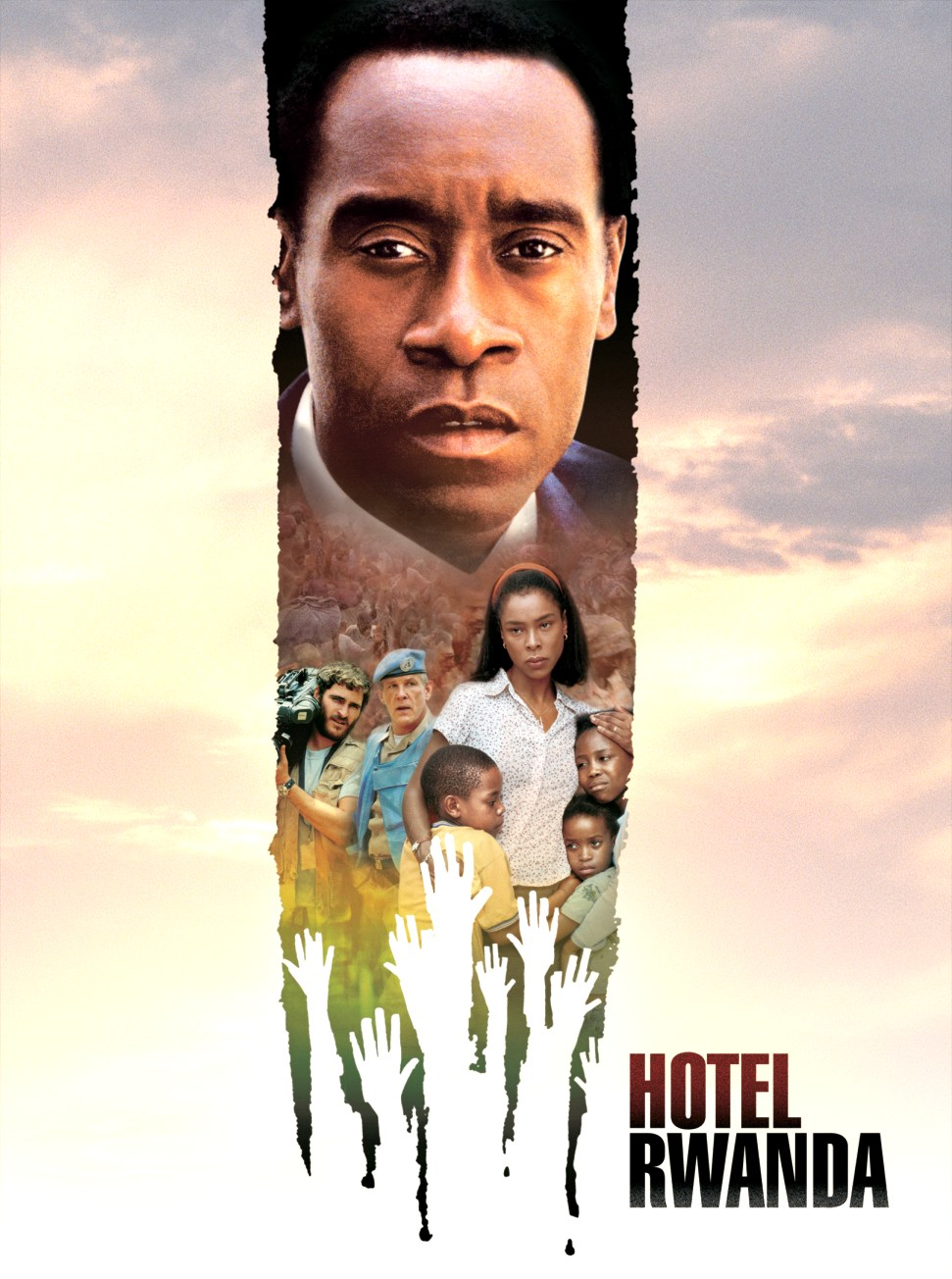 "poster for ""Hotel Rwanda"" by Terry George(2004)"
