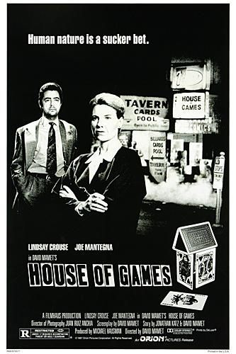 "poster for ""House of Games&quot"