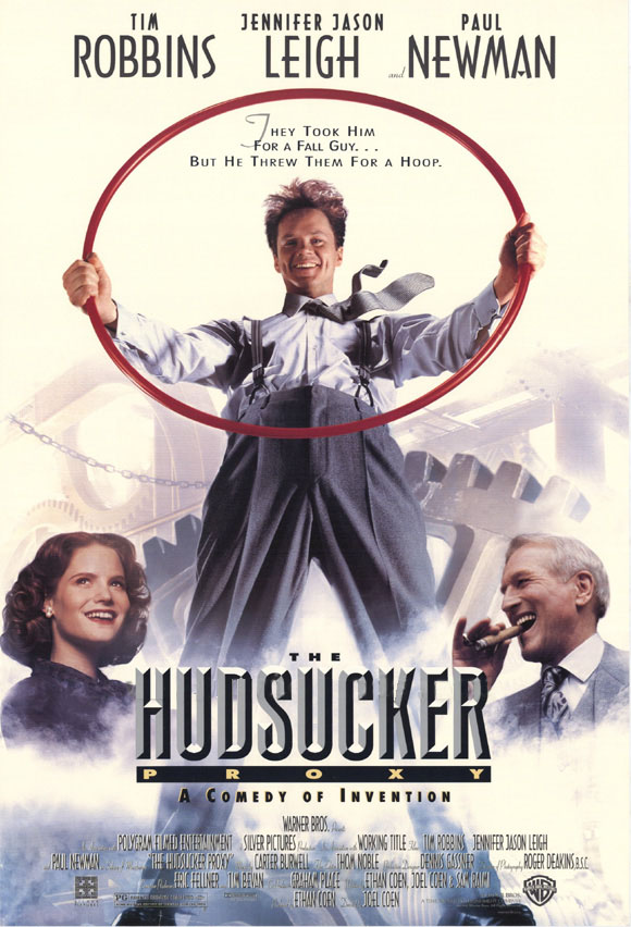 "poster for ""Hudsucker Proxy, The"" by Joel Coen 