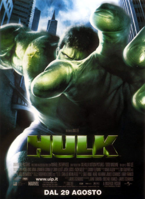 "poster for ""Hulk, The&quot"