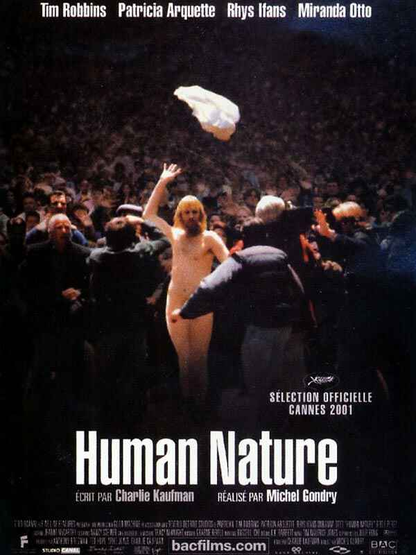 "poster for ""Human Nature"" by Michel Gondry(2001)"